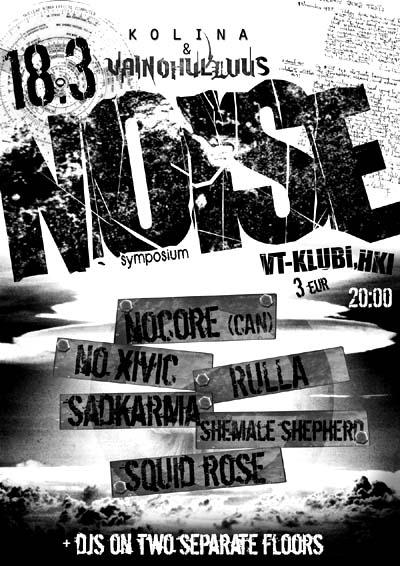 Noise Symposium 2 -poster